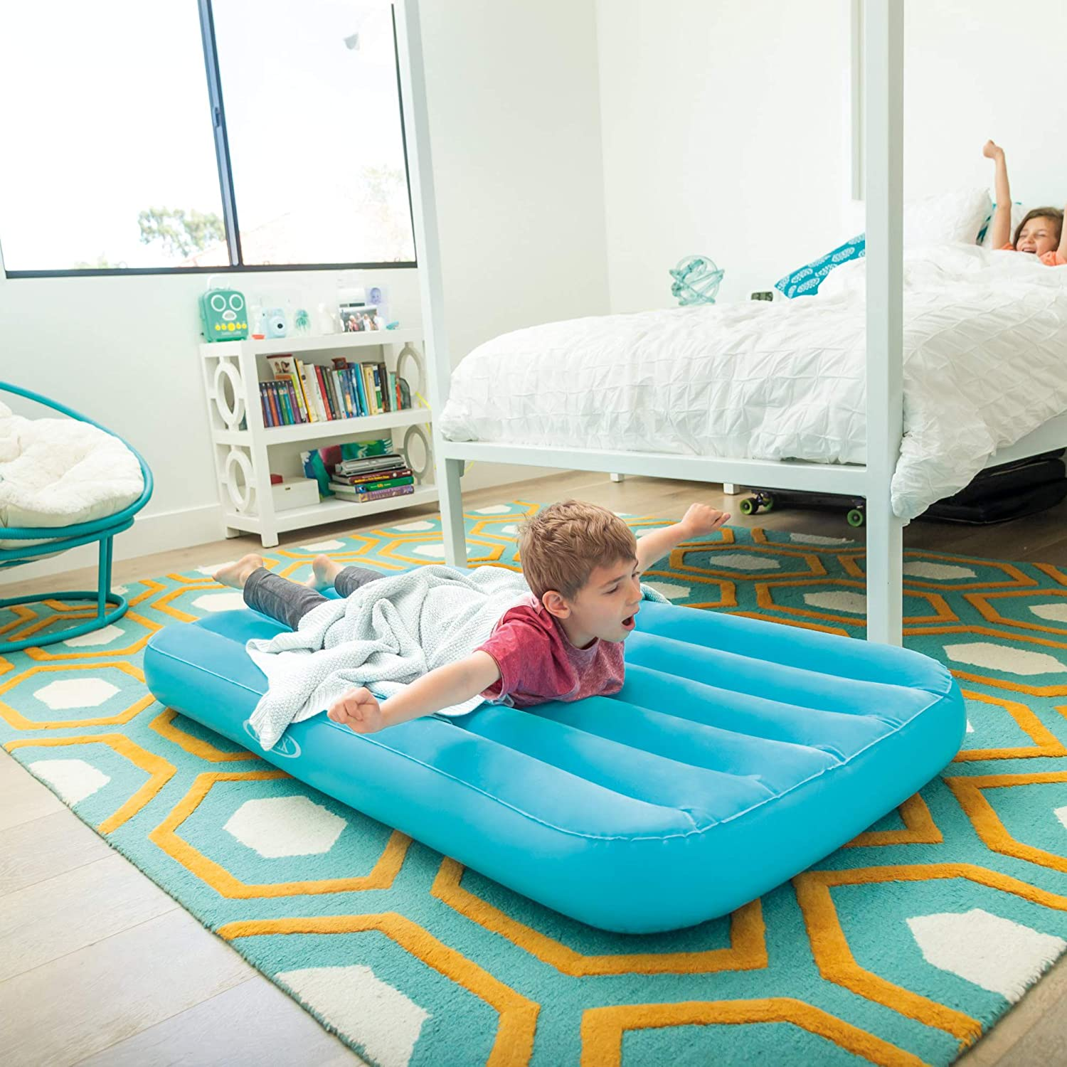 kids air mattresses with sleeping bags