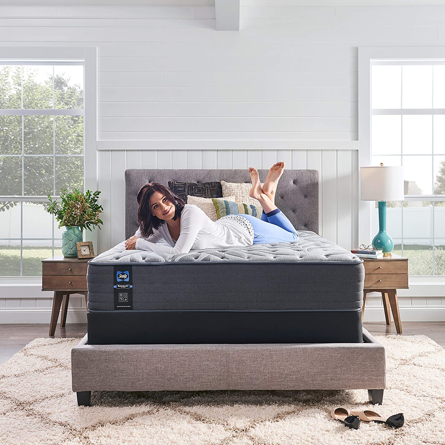 king size posturepedic mattress
